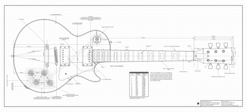 Free pdf guitar blueprints single malvernweather Gallery