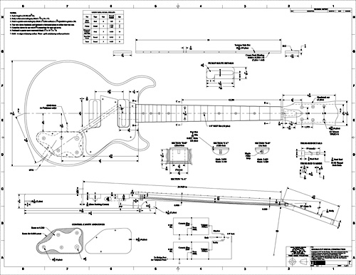 Free pdf guitar blueprints les paul special double cut plans pdf malvernweather Gallery