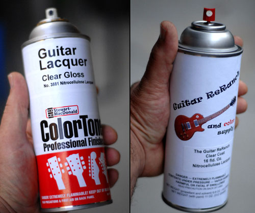 Nitrocellulose Guitar Lacquer Review