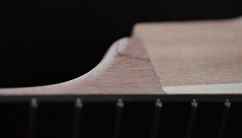 Neck and heel joint Precision Guitar