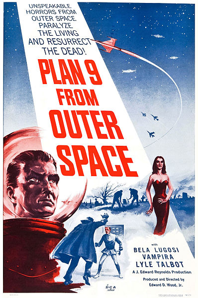 Plan 9 from Outer Space was the worst movie ever made