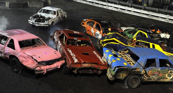 Parking Lot Demolition Derby