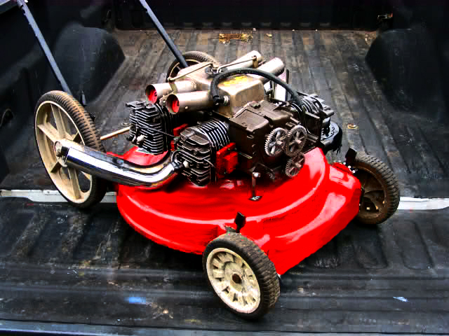 The Lawnmower From Hell